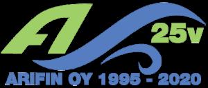 Arifin Oy 25 vuotta